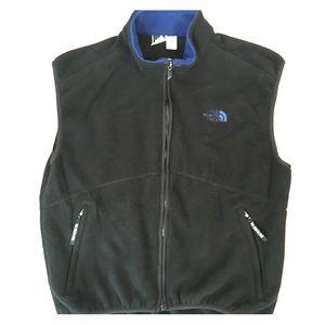 The north face fleece vest size X large